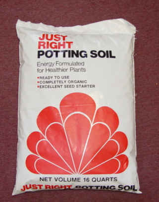 Just Right Potting Soil